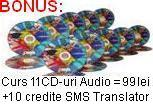 Curs Audio MP3 bilingv roman englez