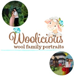 Woolicious - custom made wool family portraits